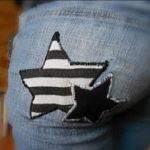jeans étoilé